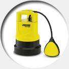 Esgotamento bombas submersíveis caixa d'água